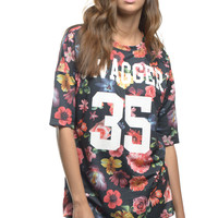 Swagger 35 Floral Jersey Tee