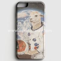 Astronaut Llama Space iPhone 6/6S Case | casefantasy