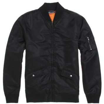 The Hundreds Market Bomber Jacket - Mens Jacket - Black