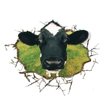 3D Wall Stickers Home Decor for Kitchen Wallpaper Roll for Living Room Dining Room Art Decal for Kids Rooms Meng sell cows
