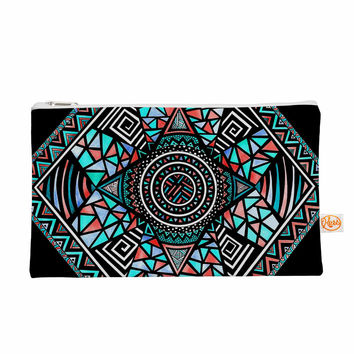 "Pom Graphic Design ""Geo Glass"" Teal Black Everything Bag"