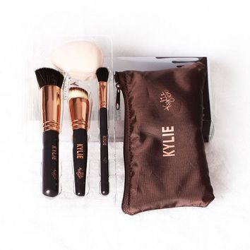 DCK4S2 kYLIE Make-up Brush 5-pcs Tools Make-up Brush Set [11002333644]