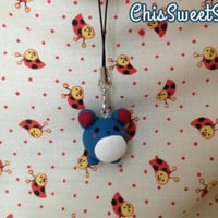 Kawaii Chibi Marill Phone/NintendoDS/3DS/Keychain/Necklace Charm