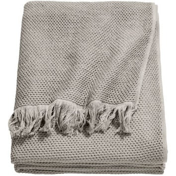 H&M Waffled Cotton Bedspread $59.99