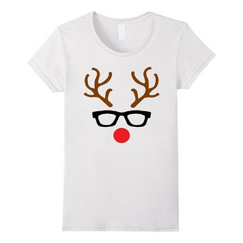 GYXMAS Christmas Red Nose Rudolph Reindeer T-Shirt