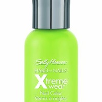 Sally Hansen Hard as Nails Xtreme Wear, Green with Envy, 0.4 Fluid Ounce