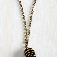 Quirky Cone Up to It Necklace by ModCloth