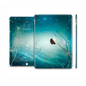 The Electric Teal Volts Skin Set for the Apple iPad Air 2