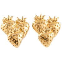 Givenchy Vintage Strawberry Earrings - Amarcord Vintage Fashion - Farfetch.com