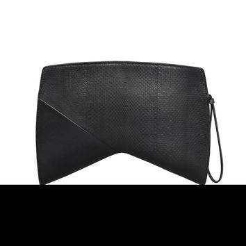 Narciso Rodriguez Boomerang Clutch - Black - One