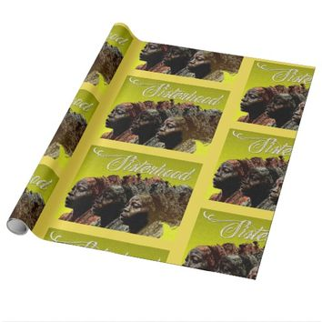 'Sisterhood' Wrapping Paper