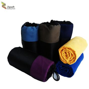 Easy to Carry Soft Beach Towels Made, Comes in Bag, Quick drying, Microfiber, Saves Space
