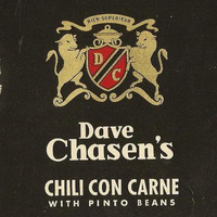 Dave Chasen's Chili Con Carne Can Label Mint Condition -  Perfect Kitchen Art  Piece of Hollywood History Great Gift For Him - Chili Cookoff