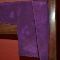 Deep Purple Silk Scarf