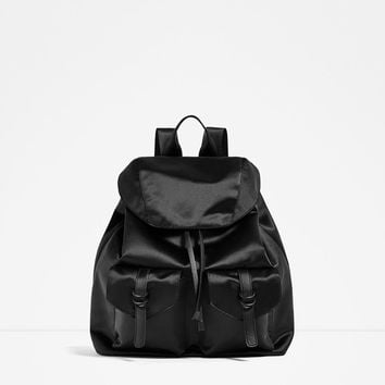 SATIN BACKPACK