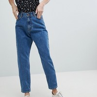 Dr Denim Nora Super High Rise Mom Jean at asos.com