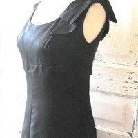 Vintage Suzy Perette dress black Sixties by posypower on Etsy