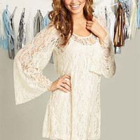 Alicia Lace Dressm at Alloy