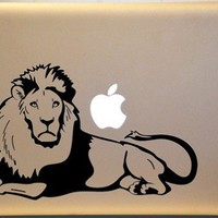 Macbook Lion Vinyl Decal for Macs Laptop or Car Window ORIGINAL