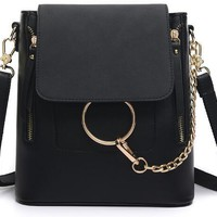 Fashion Chain Backpack Purse