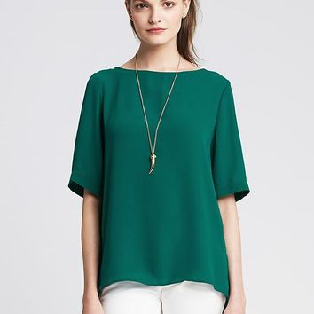 Banana Republic Cross Back Top