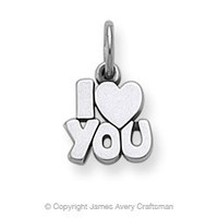 I Love You Charm from James Avery