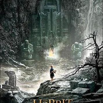"""The Hobbit 2 Lord of Rings LOTR Bilbo Poster Picture Art Print 22""""x34"""" LICENSED"""