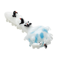 Empire Glassworks Arctic-Themed Spoon Pipe