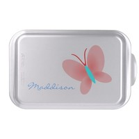 Personalized Butterfly Graphic Cake Pans