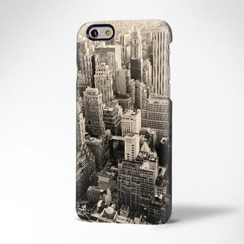 Manhattan Skyline iPhone 6s Plus Case iPhone 5s Case Galaxy S7 Edge Plus Case 186