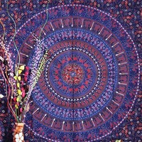 Hippie Mandala Tapestries Wall Hanging, Indian Mandala Tapestry Bedspreads, Dorm Tapestry, Decorative Wall Hanging...