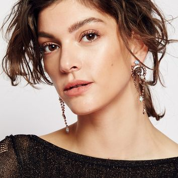 Free People Ball Chain Ear Bolo