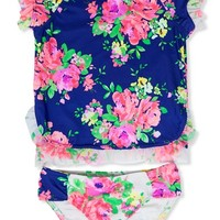 Toddler Girl's Hula Star 'Romance' Two-Piece Swimsuit,