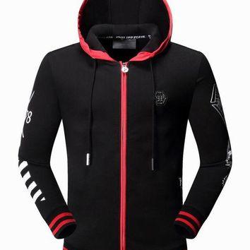 Philipp Plein Hooded Pullover Men M-3XL PP Hooded Pullover Men