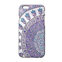 Purple Floral Pattern Plastic Phone Case for iphone 5 ^_^ Yurishop