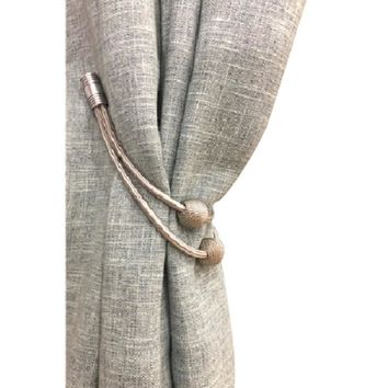1 Piece Euro Style Magnetic Curtain Tieback