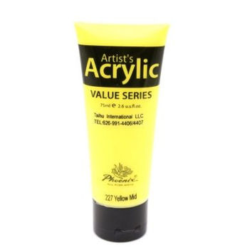 Acrylic Paint Color Value Series for Artists (75 ml.)