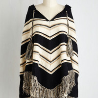 Boho Long Long Sleeve Montana on my Mind Poncho