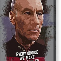 The Choice - Picard Acrylic Print by Dusan Naumovski