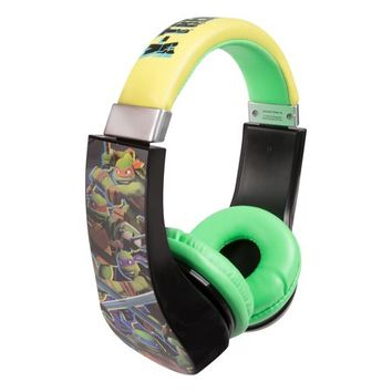Teenage Mutant Ninja Turtles Kids Friendly Cushioned Headphones with Volume Limiter - Walmart.com