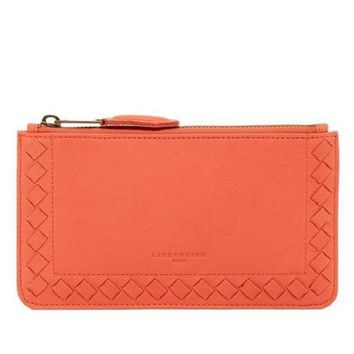 Liebeskind Peach Rabia Leather Zip Pouch
