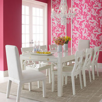 Lilly Pulitzer Home - Classic White Dining Furniture - Horchow