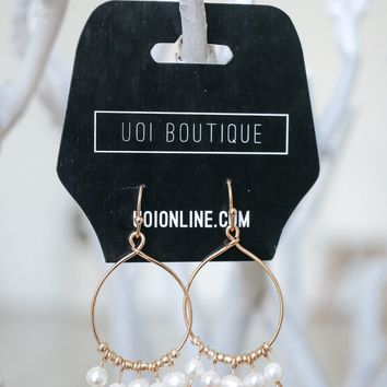 Live Fully Earrings