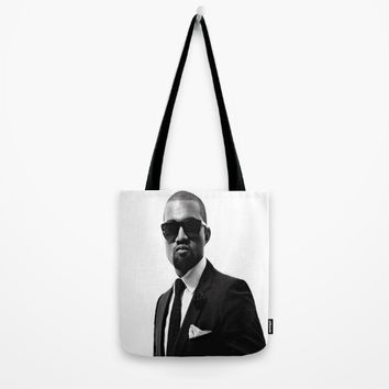 Mr. West Tote Bag by Neon Monsters
