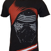 Star Wars Force Awakens Kylo Ren Face T-shirt