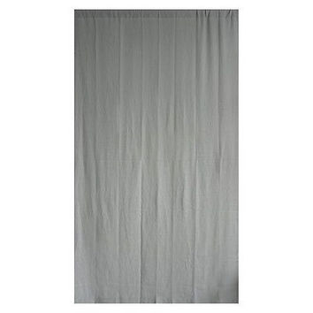 Threshold Linen-Look Solid Curtain Panel - Gray - 54 * 84