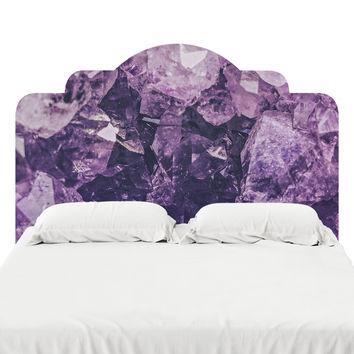 Amethyst Gem Headboard Decal