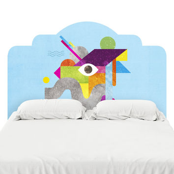 Mythical Float Headboard Decal