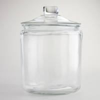 One-Gallon Glass Storage Jar - World Market