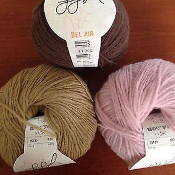 GGH BEL AIR - WOOL BLEND - ARAN WEIGHT YARN